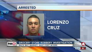 Man Arrested in Bay Market Robbery
