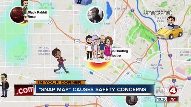 Sheriff's Office warns parents about 'Snap Map'