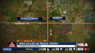 Port Charlotte man dies in SUV crash on S.R. 31