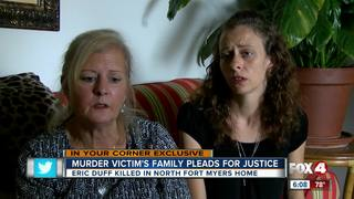 Murder victim's family pleads for justice
