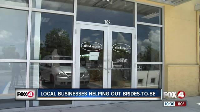 Boutique donates free dresses to those affected by Alfred Angelo's closing