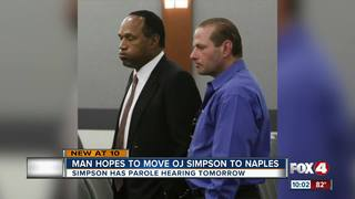 If granted parole, O.J. could be moving to FL