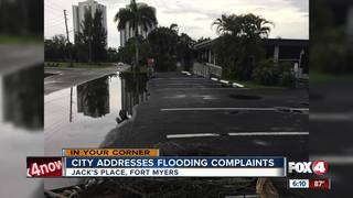 Fort Myers business storm damage cleared