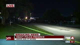 FMPD working investigation in Fort Myers