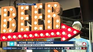 Home brew competition in Naples