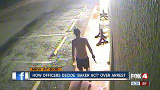 When to Baker Act vs. arrest crime suspects