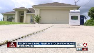 Jewelry, electronics stolen from Lehigh home