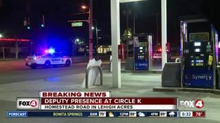 Robbery investigation at Lehigh Acres Circle K