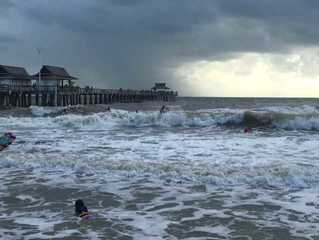 Storm catches many by surprise; surfers happy