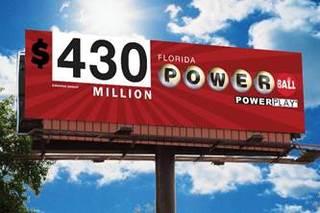Powerball jackpot now an estimated $430 million