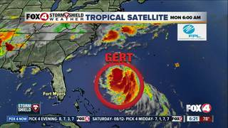 Tropical Storm Gert won't hurt