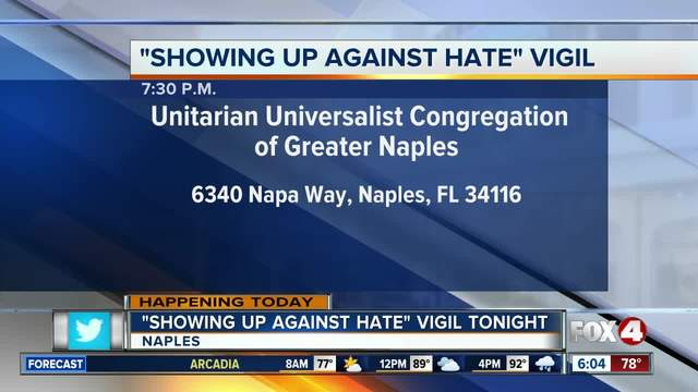 Local vigil held for Charlottesville protest victims