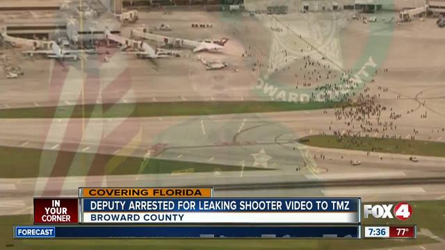 BSO deputy arrested, accused of leaking FLL shooting video