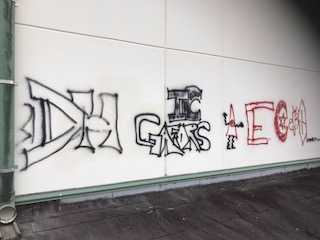 Photos: Vandalism at Island Coast High School