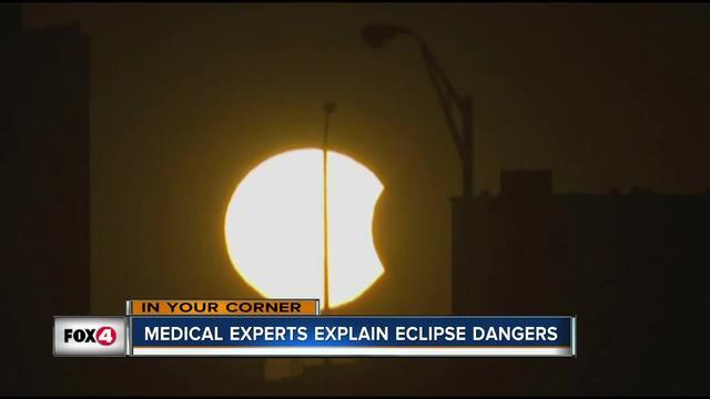 Medical experts explain eclipse dangers