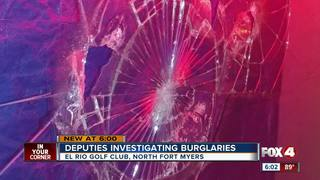Thieves target homes and pawn shop