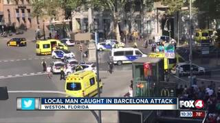 Florida family recalls chaos of Barcelona attack