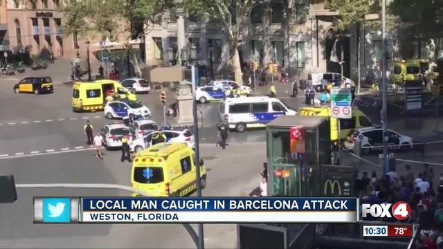 Florida family caught in Barcelona attack