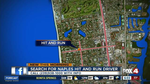 Teen seriously injured in Naples hit and run