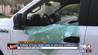 Car burglaries plaguing NFM gated community