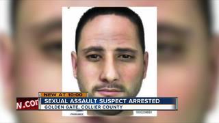 Golden Gate sexual battery suspect In custody