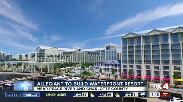 Allegiant announces Sunseeker Resorts Development on Florida's Gulf Coast