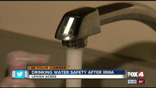 Drinking water concerns after Irma in Lehigh