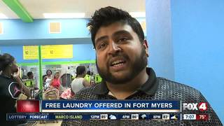 2nd laundromat offering free washes this weekend