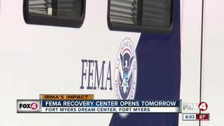 FEMA opening mobile disaster recovery center