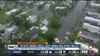 FL Dems roll out package of Irma-related bills