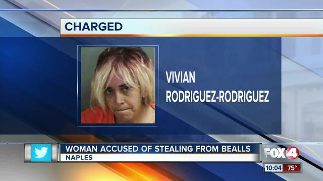 Image result for Naples woman arrested for shoplifting at Bealls