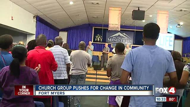 Church group pushes for change in community