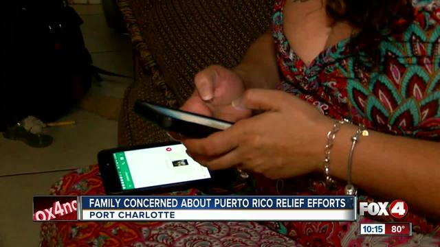 Woman turns to social media to find news of her Family in Puerto Rico