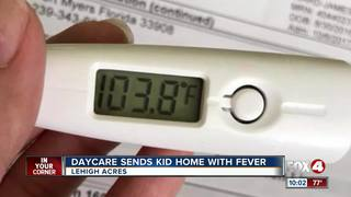 Child's condition 'heartbreaking' after daycare