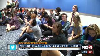 UF students call for classes to be cancelled Thu