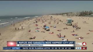 Naples area makes Top 15 in happiest city list