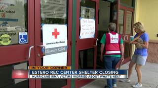 Last hurricane shelter still open to close