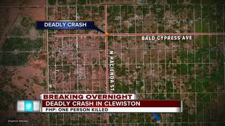 Motorcyclist ID'd in deadly Clewiston crash