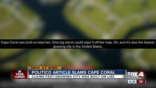 Cape Coral makes national headlines