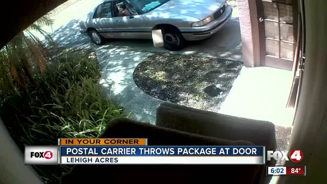 Postal carrier throws package from car in Lehigh Acres