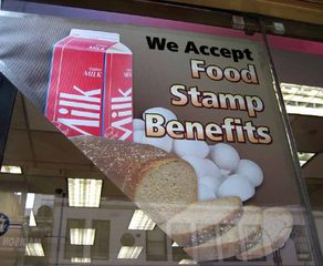Huge cuts to food stamps part of Trump's budget