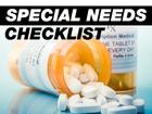Special Needs Checklist
