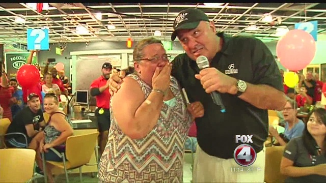 Elegant Watch This Womanu0027s Reaction When Bily Fuccillo From Fuccillo Kia Cape Coral  Gives Her A Brand New Car.
