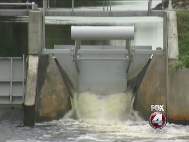 Water flows from Lake Okeechobee to be reduced
