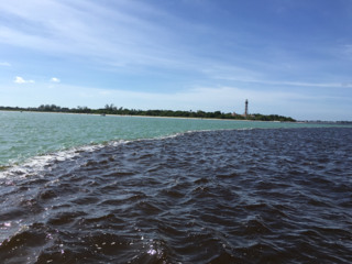 Brown water found at Sanibel Beach