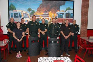 Sub shop donates ballistic shields to Sheriff