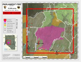 Fire In Big Cypress Now Over Acres US Closed Again - Us 41 map