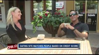 Dating website makes connections on credit score