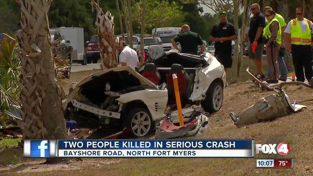 car accident fort myers  Two dead when car hits tree in North Fort Myers - Fox 4 Now WFTX ...