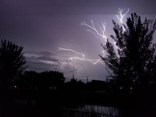 Southwest Florida lightning photos 2017